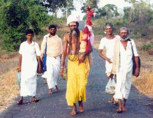Few Tamil pilgrims dared to walk Pāda Yātrā in 1992 due to the ethnic conflict.