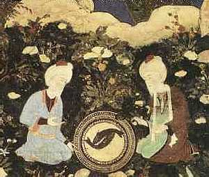 Al-Khadir (right) and companion Zul-Qarnain
