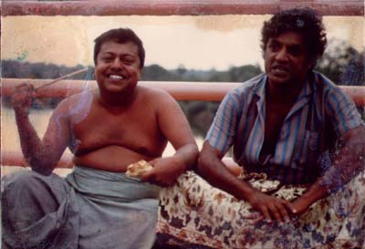 Manik Sandrasagra and Christo de Alwis, 1987