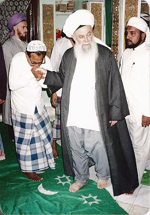 Sheikh Nazim Adil al-Haqqani in Khizr Maqaam
