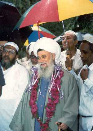 Sheikh Nazim in Colombo (17 kb)