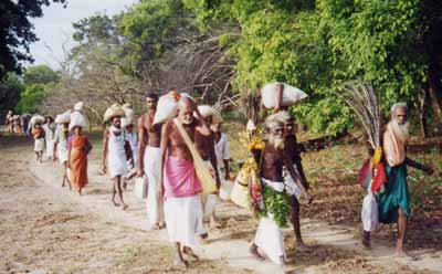 Pada Yatra 2000 in Yala National Park