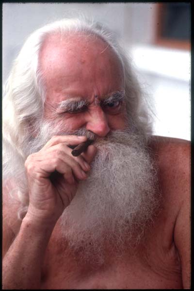 German Swami Gauribala (1907-1984) inspiration for the 'Irish Swami' of Earthman